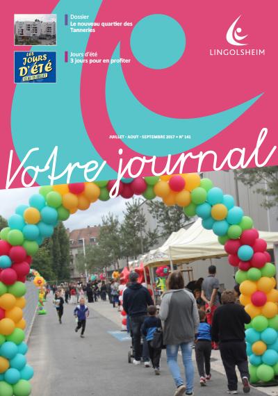 Journal Municipal n°141 Juillet Août Septembre 2017