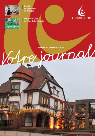 Journal Municipal N°143 Décembre 2017 – Janvier Février 2018
