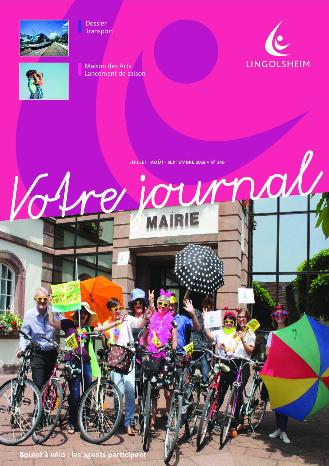 Journal Municipal n°146 – Juillet Août Septembre 2018