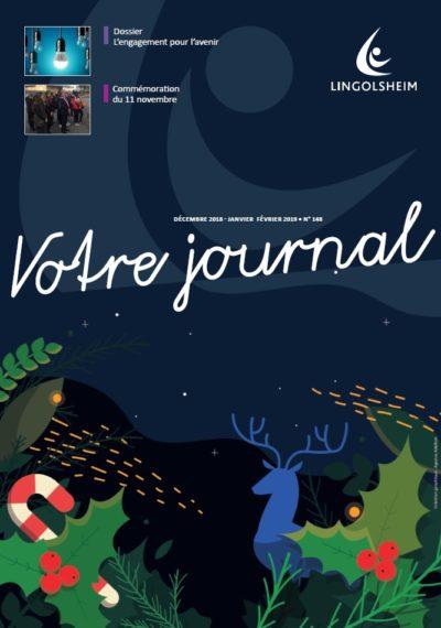 Journal Municipal N°148 Décembre Janvier Février 2019