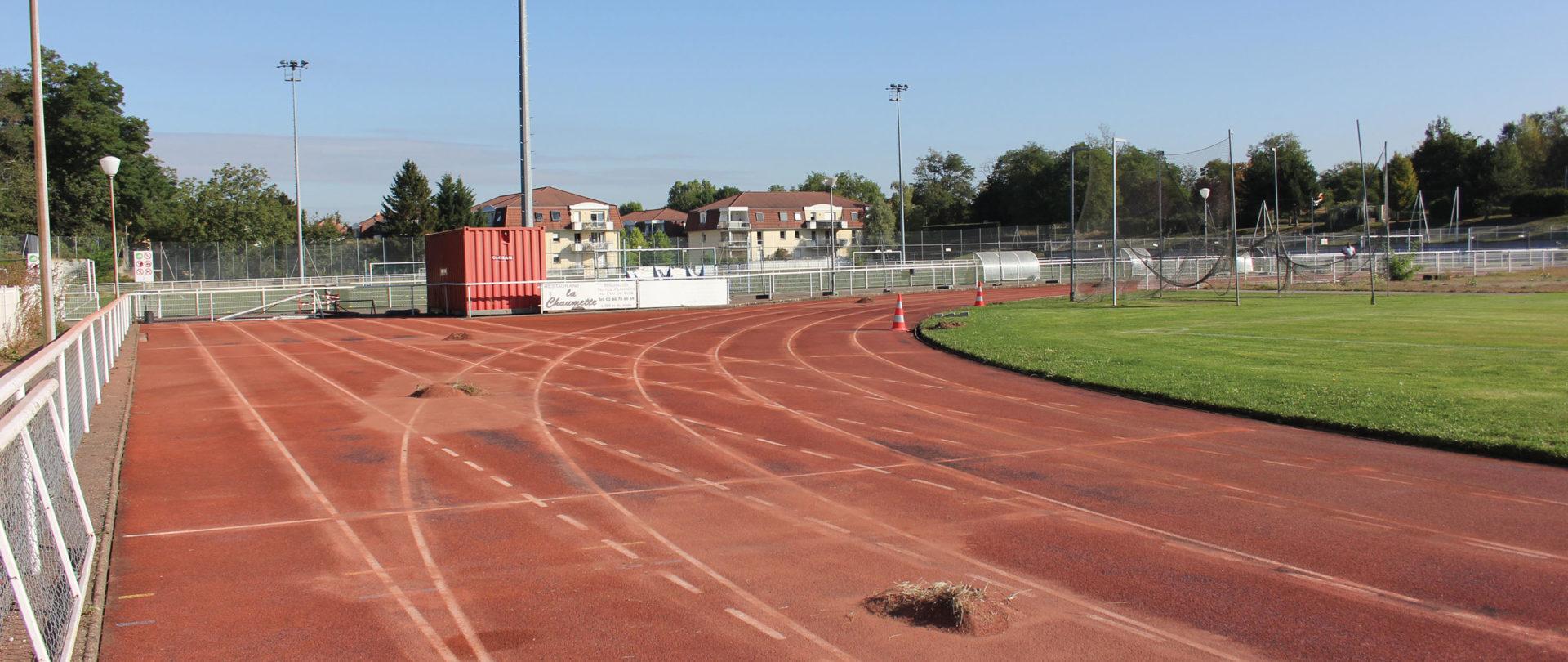 Travaux stade Joffre Lefèbvre