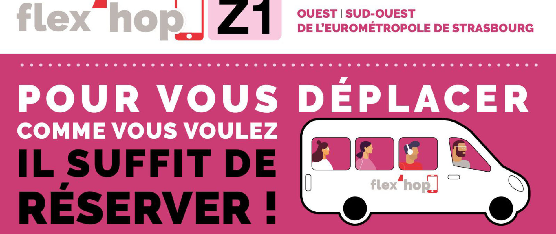 Flex'hop, le transport à la demande