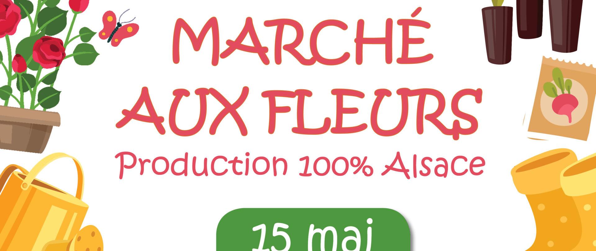 Marché aux fleurs - Place de la Liberté