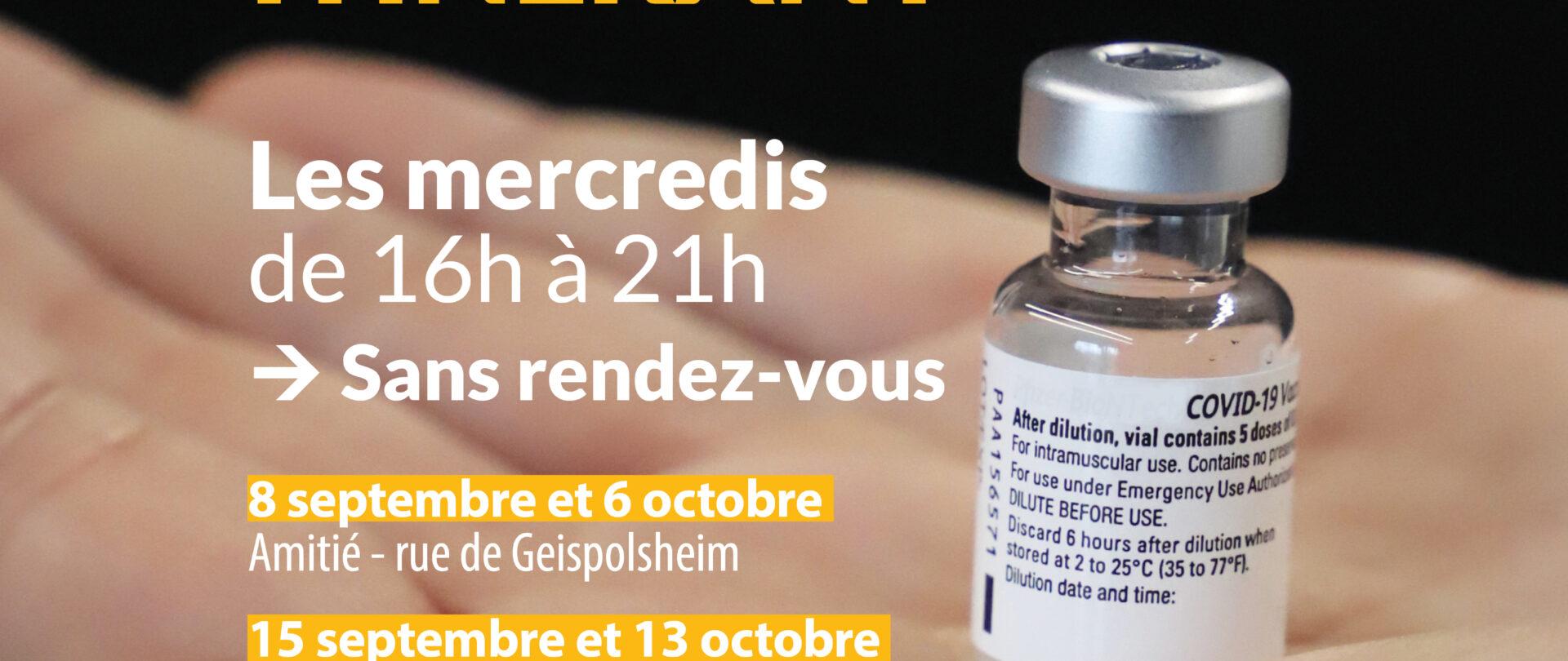 Centre de vaccination itinérant